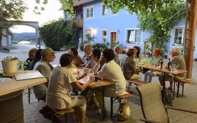 Ausflug der Nordic-Walking-Gruppe nach Steinbach