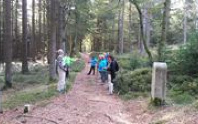 Ausflug der Nordic-Walking-Gruppe zur Silberhütte